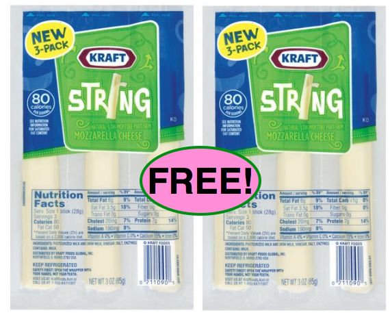 Fox Deal of the Week! FREE Kraft Cheese Sticks!! {Only One Coupon!}