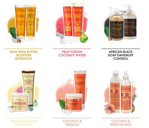 FREE Shea Moisture Shampoo & Conditioner!