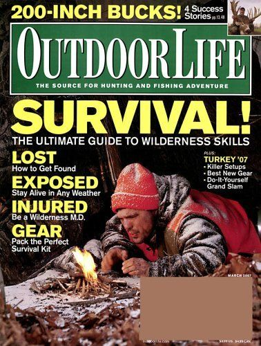 FREE Annual Subscription to Outdoor Life Magazine!  {$39 Value}