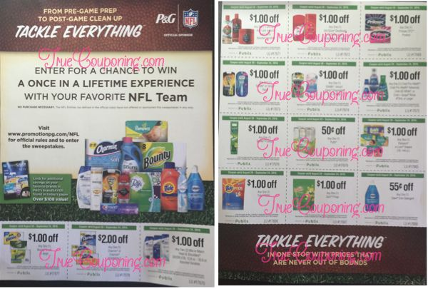 New Publix Coupon Flyer Tackle Everything PG And Publix Coupons