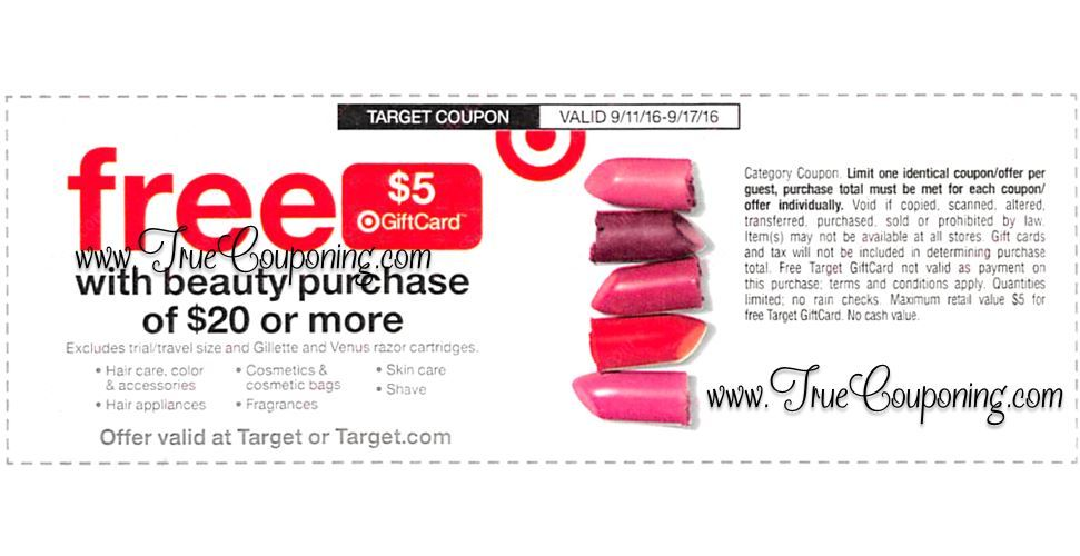 ... Beauty Coupons to Stack with the Target Beauty Coupon! ~ Coming Sunday