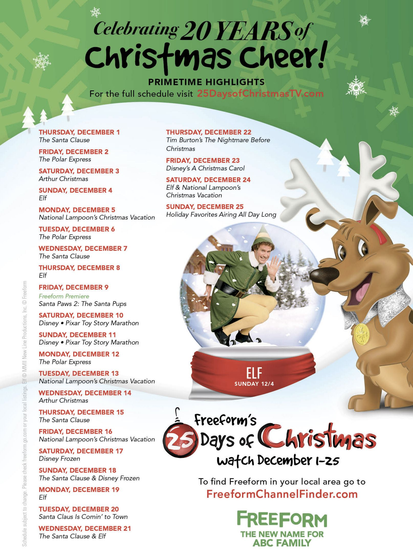 Abc Family Holiday Shows And Movies Thanksgiving