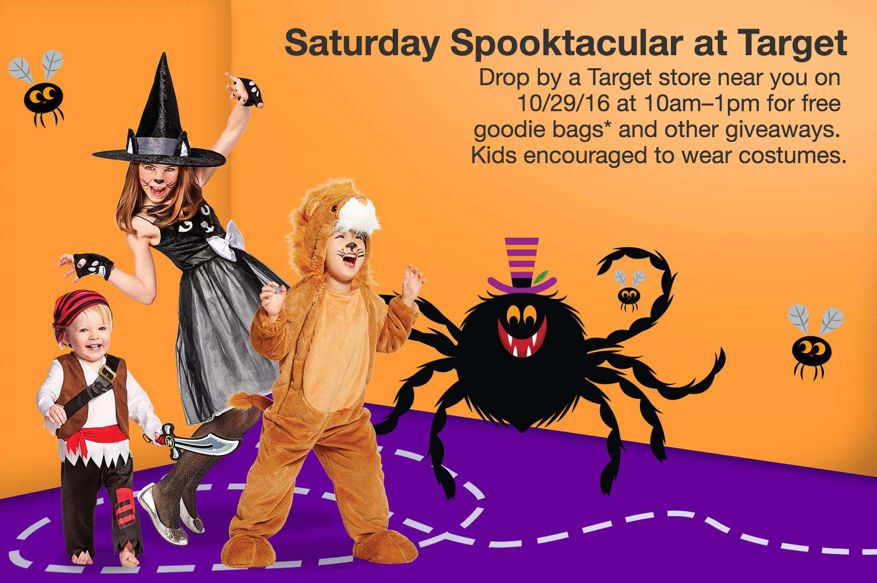 FREE Halloween Goodie Bags from Target on Saturday, 10/29!