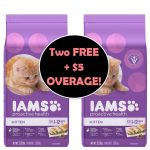 Print NOW To Get TWO (2) FREE + $5 OVERAGE on Iams Cat Food at Publix! ~ Starts Next Week!