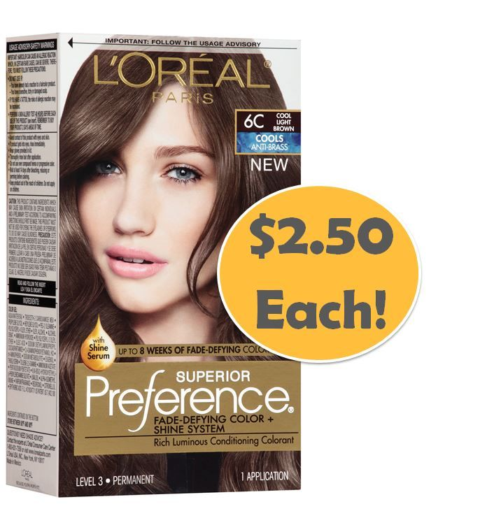 Coupons For Loreal Superior Preference Hair Color Century 21 Store