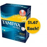 Tampax Pearl Tampons $1.67 Each at Target! ~ Starts Today!