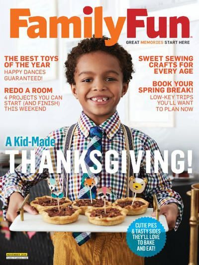 GREAT GIFT IDEA! FREE Annual Subscription to Family Fun Magazine! {$27 Value}