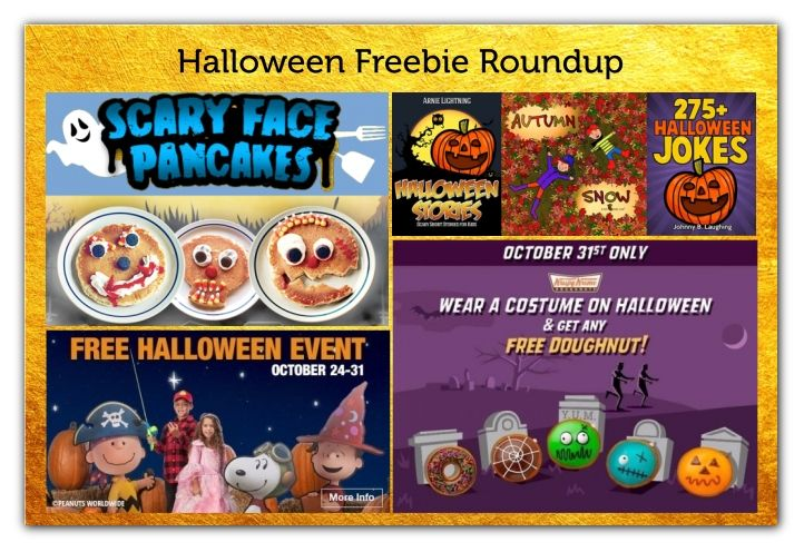 There's Still Time to Catch Some of These Halloween FREEbies!