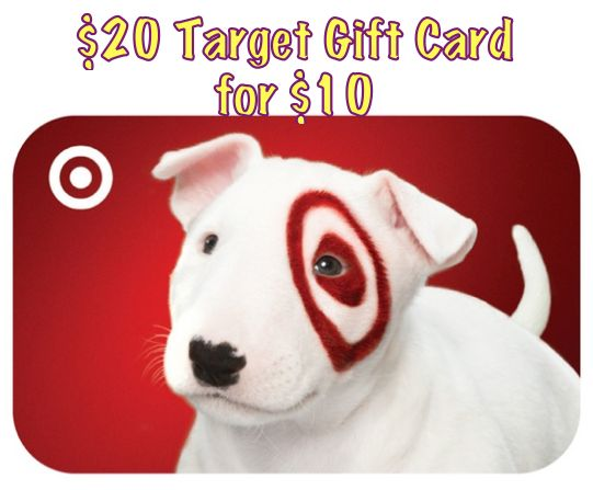 HURRY! DEAL ENDS TONIGHT! Check Your Email! By Invitation Only…$20 Target Gift Card for $10!