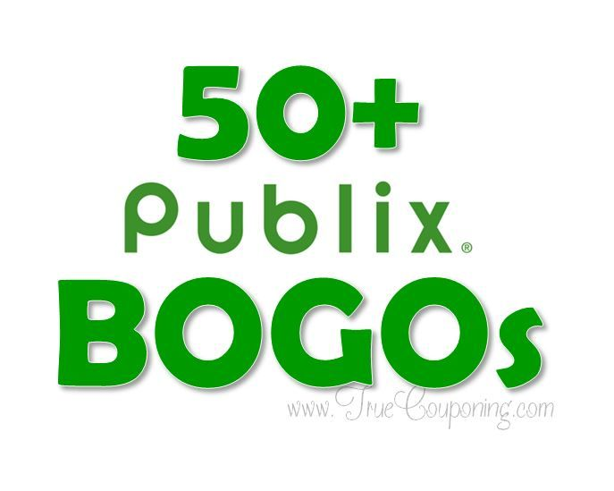 Don't Miss the 50+ BOGO's Happening This Week at Publix! 4/12 – 4/18 (or 4/11 – 4/17)