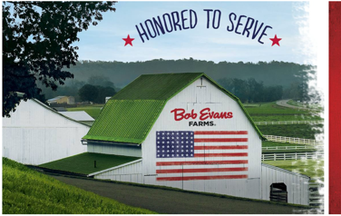 FREE Meal at Bob Evan's for Veterans and Active Duty Members on Friday 11/11! #ThankAVeteran