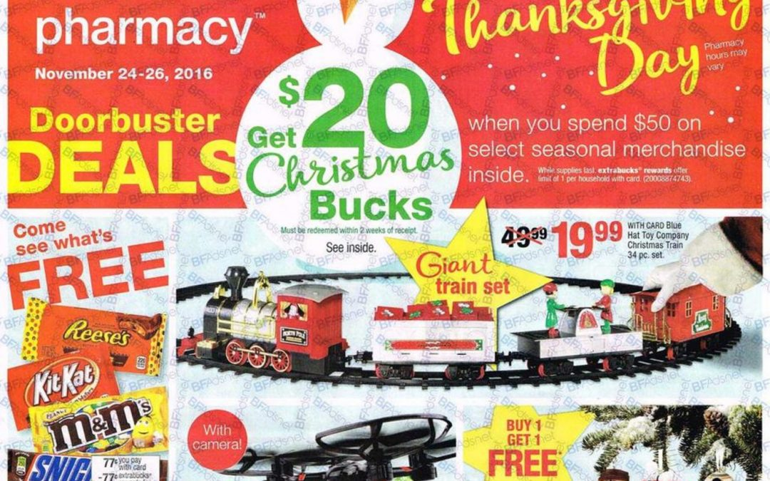 CVS Black Friday Ad Scan 2016 {with Printable Shopping List Feature!}