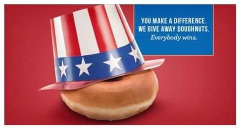 """That """"I VOTED"""" Sticker is Worth a FREE Doughnut at Krispy Kreme! And More!"""