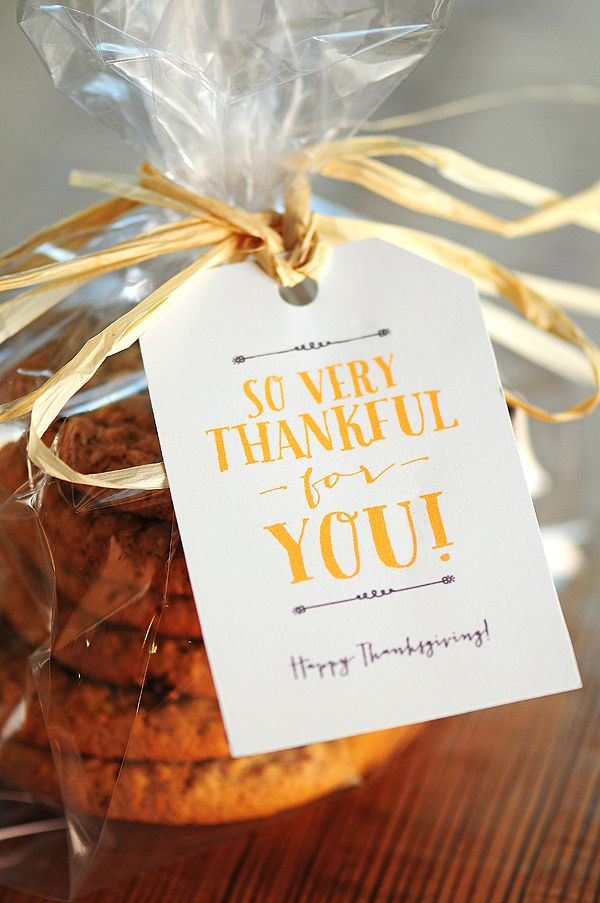 FREE Thanksgiving Gift Tags and Note Card Printables