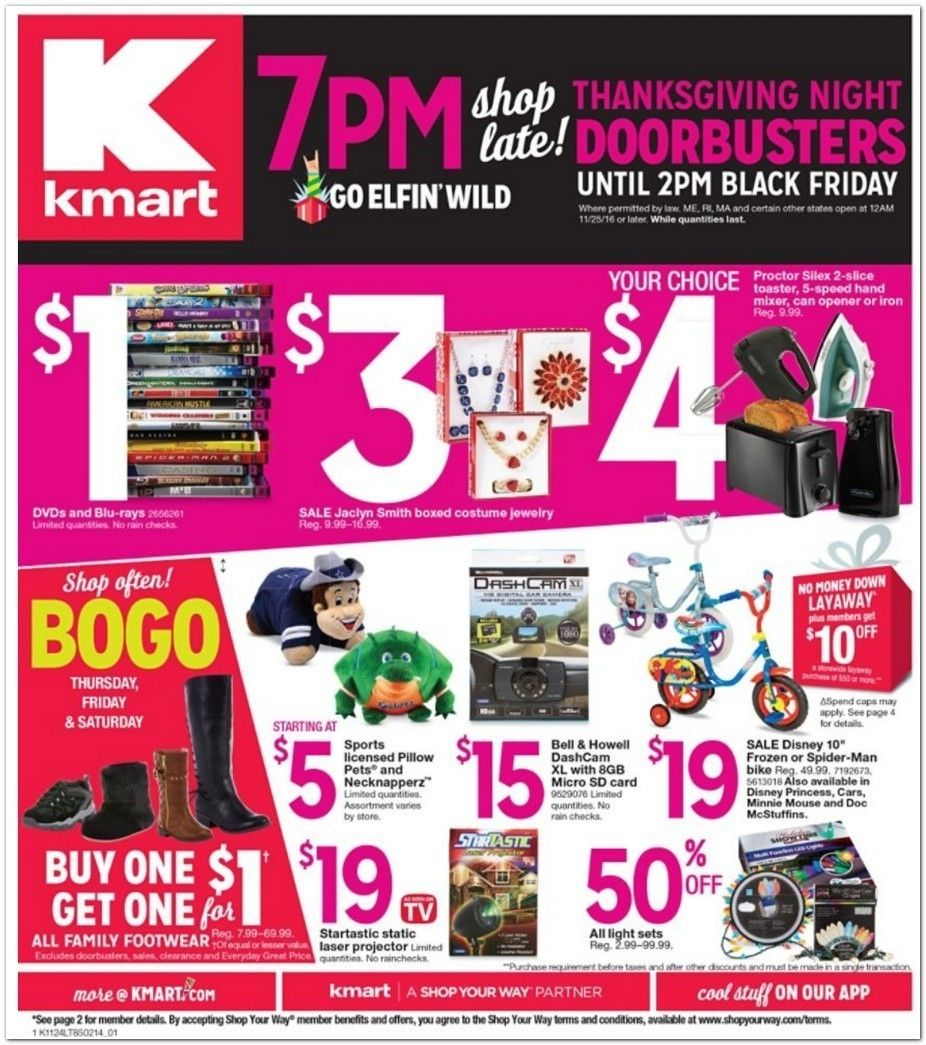 thanksgiving ad for kmart