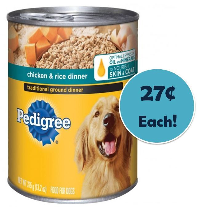 Pedigree puppy food coupons