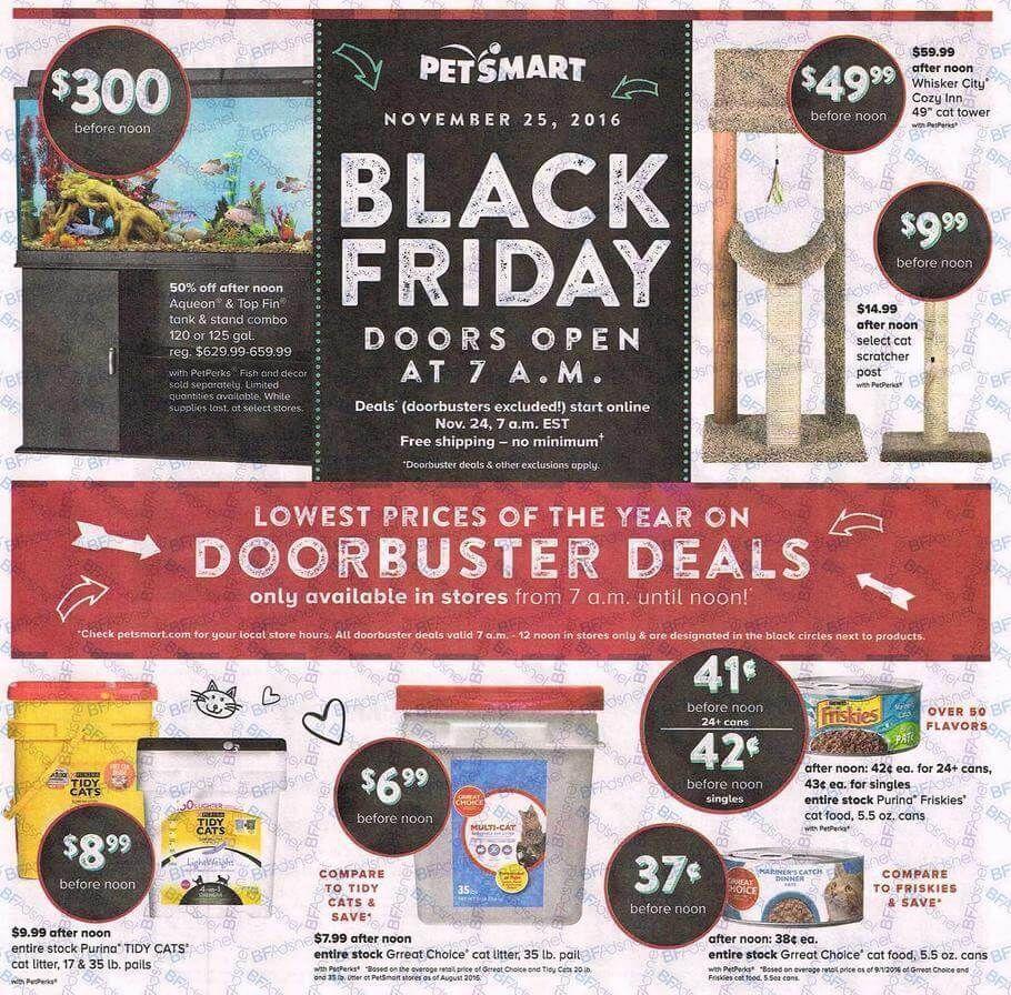 Petsmart Black Friday Ad Scan 2016