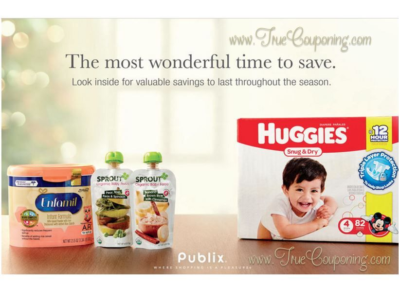 """Did You Get Your Publix Baby Coupons """"The Most Wonderful Time To Save"""" Booklet & Printables? (Valid Thru 12/28)"""