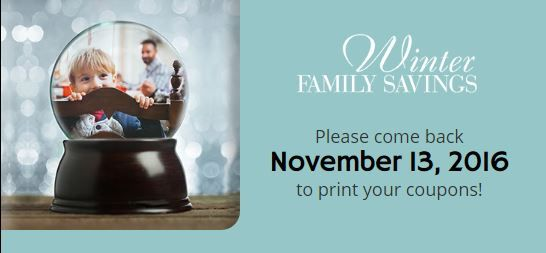 """Publix """"Winter Family Savings"""" Coupon Booklet & Printables Still Available!~ Expires 12/31/16!"""