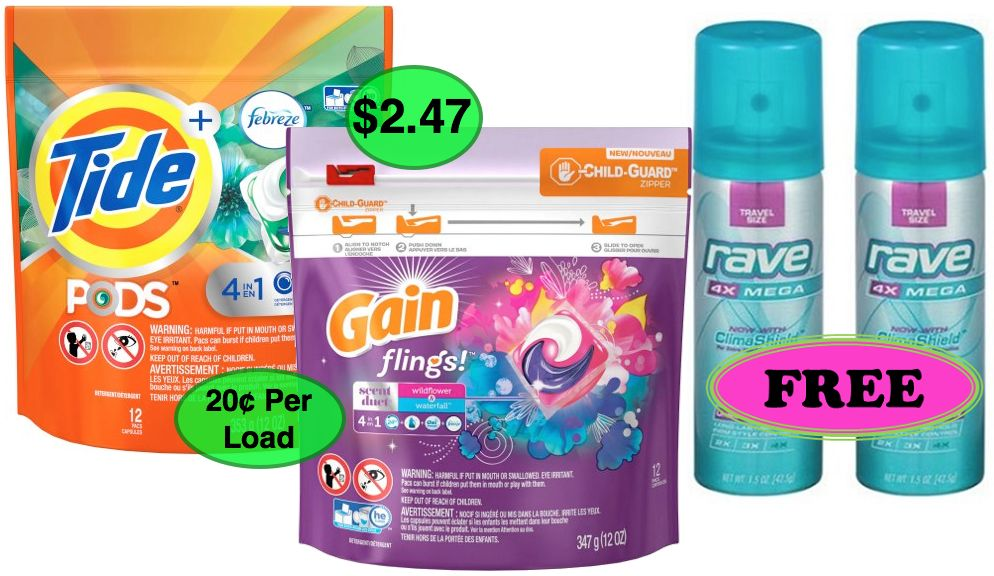 Fox Deal of the Week! Super Cheap TIDE, GAIN and FREE Hairspray!