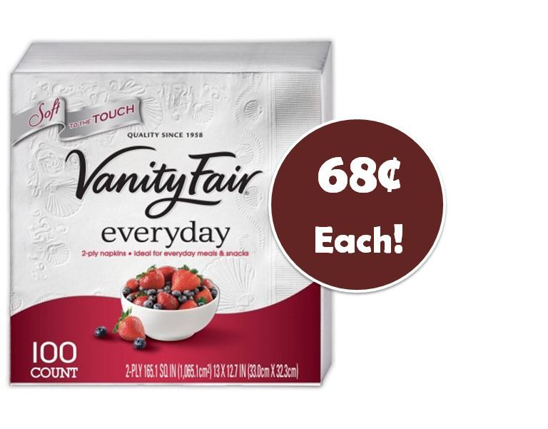 picture regarding Vanity Fair Coupons Printable identified as Vainness realistic top quality napkins coupon / 5 star discount coupons gainesville