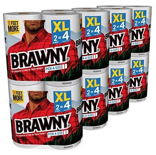 brawny paper towels 11-10