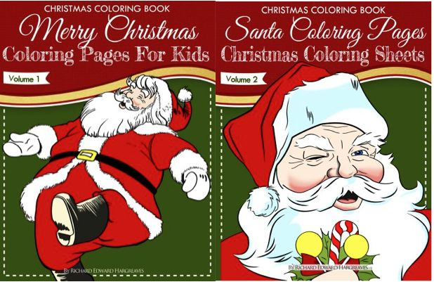 TWO FREE Christmas Coloring eBooks! {$25.90 Value}