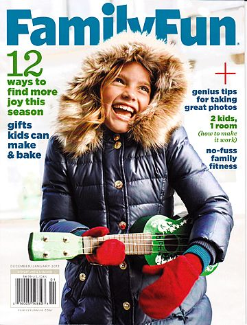 Terrific Christmas Gift Idea! FREE Annual Subscription to Family Fun Magazine!