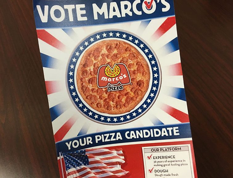 """FREE Medium Pizza from Marco's Pizza…and You Don't Need the """"I VOTED"""" Sticker!  Plus More Election Day FREEbies!"""