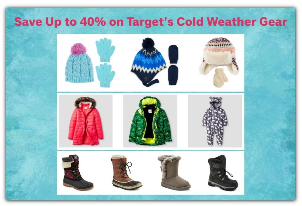 Save Up to 40% on Cold Weather Gear at Target! FREE Shipping too!