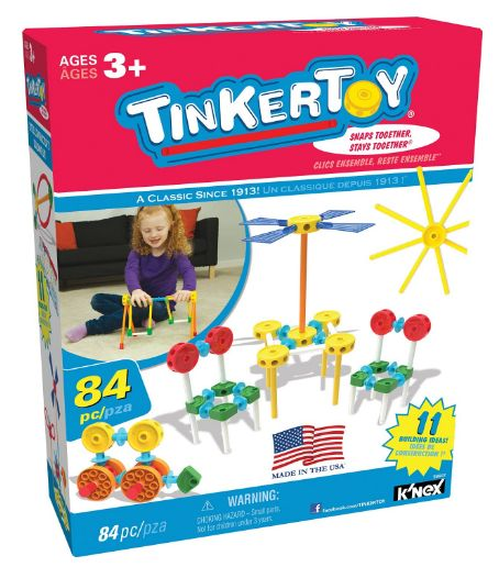 tinker toy building set 12-1