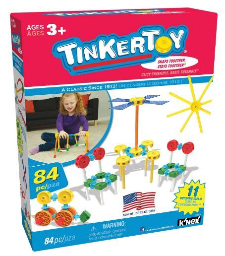 tinker toy building set 12-1