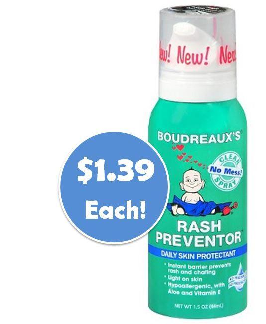 Boudreaux's Rash Preventor Daily Skin Protectant - 1.5oz