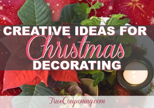 Creative ways to decorate your house for christmas Ways to decorate your house for christmas