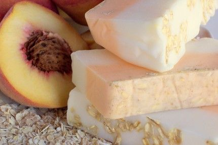 FREE Handmade Peach Soap!