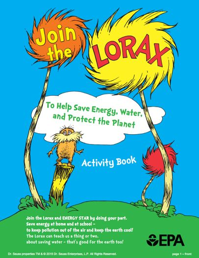FREE Lorax Activity Book!