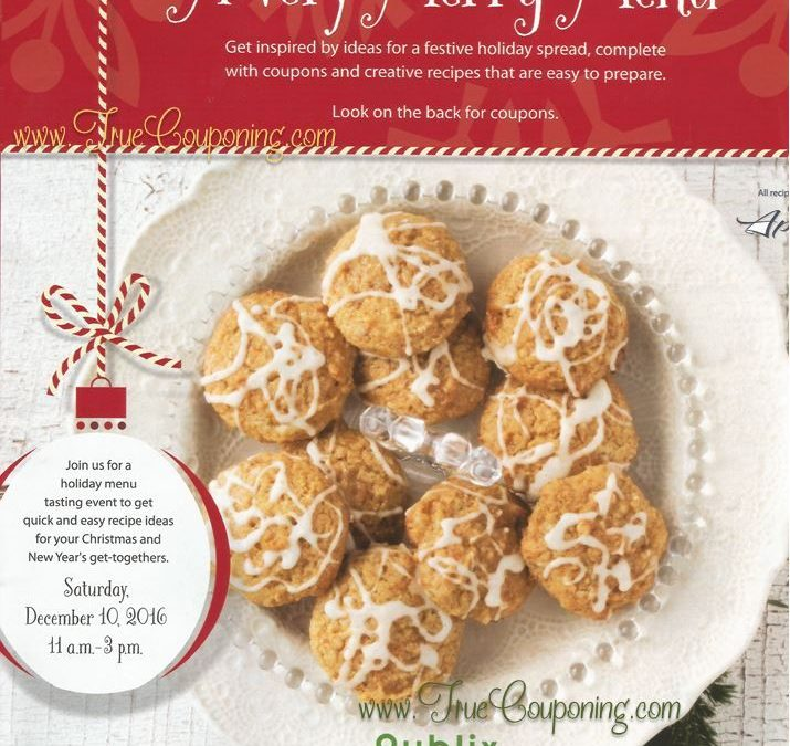 """Last Chance to Use Publix """"A Very Merry Menu"""" Coupon Booklet & Printables! ~ Expires Saturday, 12/24!"""