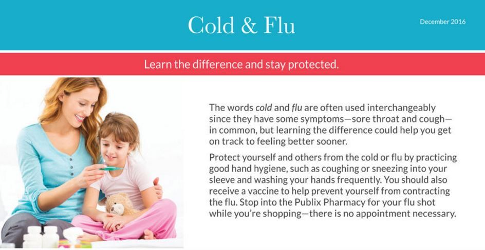 """Publix """"Cold & Flu"""" December Pharmacy Coupons {Now Printable!} ~ Ends 12/31!"""
