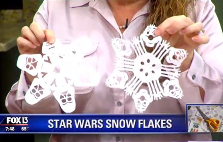 Starwars Snow Flakes