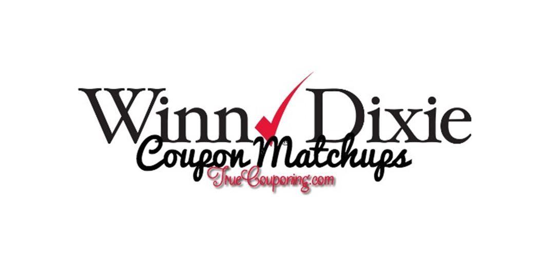 Winn Dixie Coupon Matchups 2/22 - 2/28