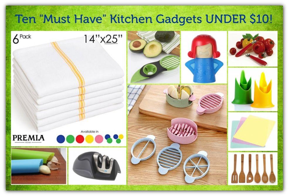 Kitchen Gadget Gifts UNDER $10!
