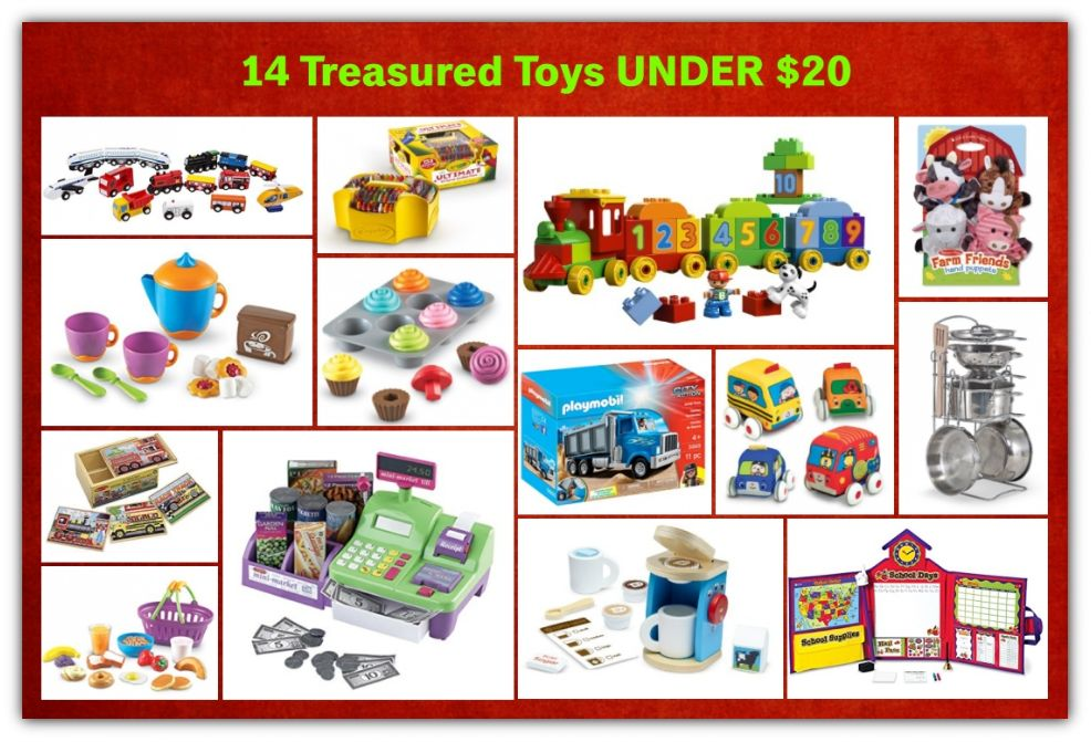 14 Treasured Toys UNDER $20!