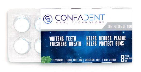 FREE Pack of Confadent Gum!