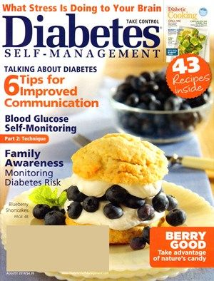 FREE Annual Subscription to Diabetes Self-Management Magazine {$24 Value}!