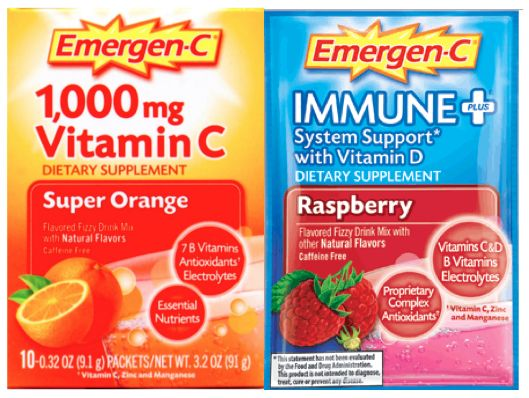 FREE Emergen-C Packets!