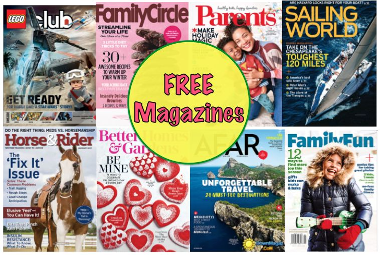 FREE Family Fun Magazine Subscription {Plus SEVEN (7) More FREE too!} Worth $317 Total! No Credit Card Needed & You'll Never Even Get A Bill!}