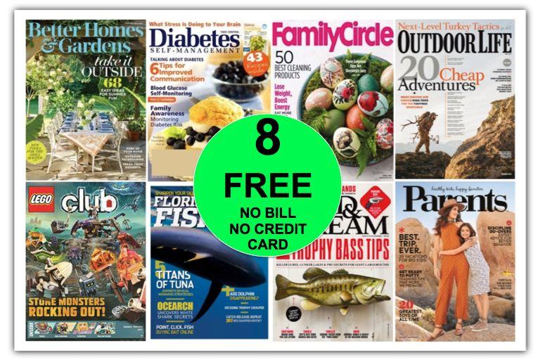 GREAT GIFT IDEA for Father's Day! FREE Field & Stream Annual Magazine Subscription {PLUS SEVEN (7!) More FREE Magazine Subscriptions!}