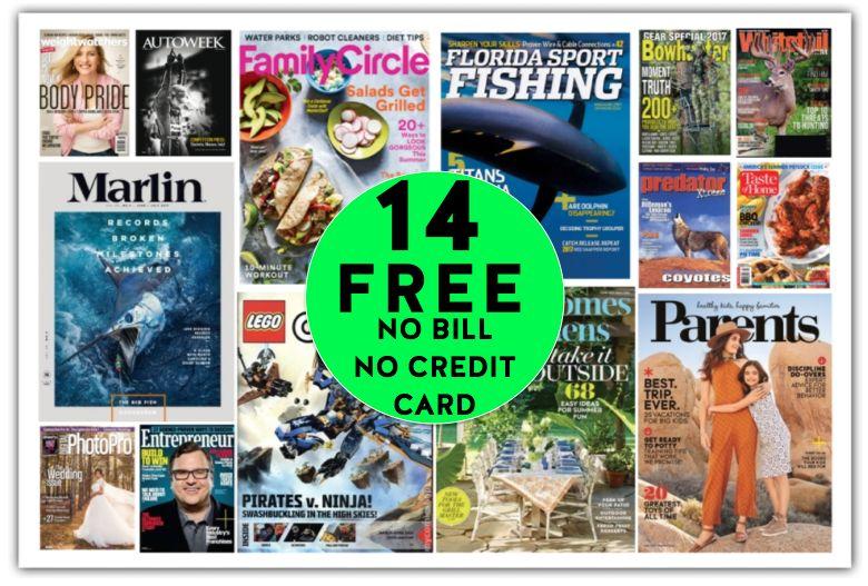FREE Taste Of Home Annual Magazine Subscription {Plus THIRTEEN (13!) More FREE Magazine Subscriptions!}