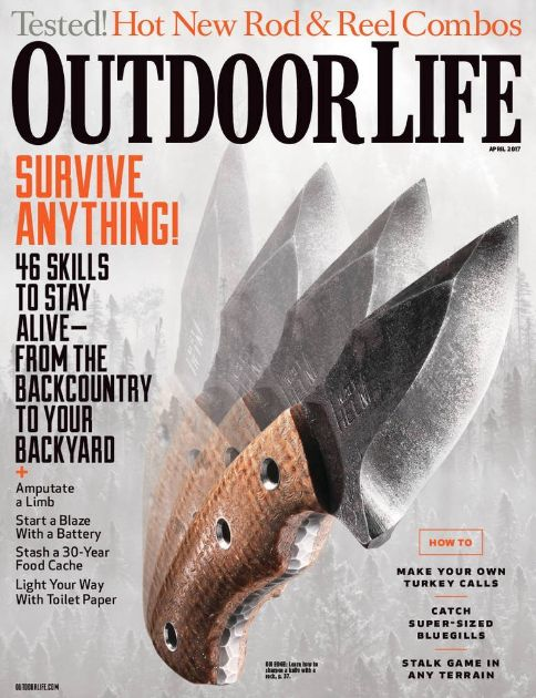 FREE Annual Subscription to Outdoor Life Magazine {$39 Value}!