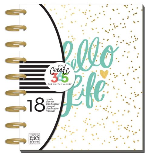 hello life monthly planner 12-19